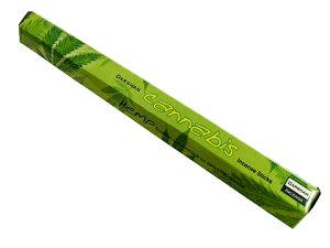 お香 ダルシャン カナビス香 スティック /DARSHAN CANNABIS/インセンス/インド香/アジアン雑貨(ポスト投函配送選択可能です/6箱毎に送料1通分が掛かります)