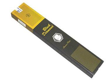 お香 ブラックダイヤモンド香 スティック /SHANKAR'S BLACK DIAMOND/インセンス/インド香/アジアン雑貨(ポスト投函配送選択可能です/3箱毎に送料1通分が掛かります)