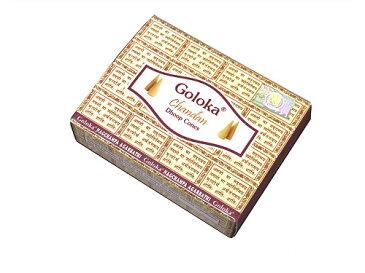 お香 ゴロカ チャンダン香 コーンタイプ/GOLOKA CHANDAN CORN/インセンス/インド香/アジアン雑貨(ポスト投函配送選択可能です/6箱毎に送料1通分が掛かります)