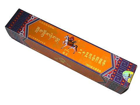 チベット香の伝統製法で作られたお香(二十五味圣葯蔵香ドゥープタイプ)夏河拉ト楞駿馬蔵香有限公司/オールナチュラル&オールハンドメイドインセンス/アジアン雑貨