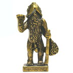 真鍮製の小さな置物 タイの福を招くお守り「行者チンコ」/タイのお守り/エスニック/アジアン雑貨(ポスト投函配送選択可能です)