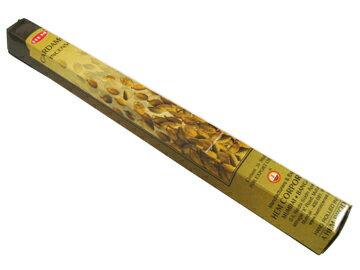 お香 カルダモン香 スティック /HEM CARDAMOM/インセンス/インド香/アジアン雑貨(DM便選択で6箱毎送料99円)