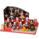*ディズニー雛人形*3段飾り【在庫あり】【送料無料】【雛人形】贈り物に♪ディズニーお雛様*3段...
