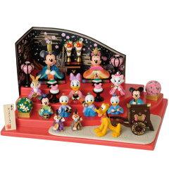 【在庫あり・即納】【送料無料】【雛人形】贈り物に♪ディズニーお雛様*3段飾り【グッズ】*gif…