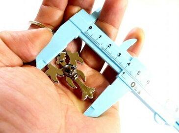 キーリングキーホルダー ドクロE ST-187 カニカン付き携帯ストラップおまけ あす楽 メール便OK