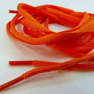 靴ひも 靴紐 シューレース 丸紐 オレンジ ETSR-623 110cm くつひも おしゃれ あす楽 メール便OK