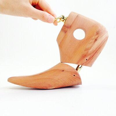 メンズブーツ用の木製シューツリー【ミレニアムブーツキーパー】
