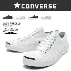 【CONVERSE】コンバース ジャックパーセル レディース・メンズジャックパーセル JACK PURCELLホワイト ブラック モノクロ ライトグレー 全4色