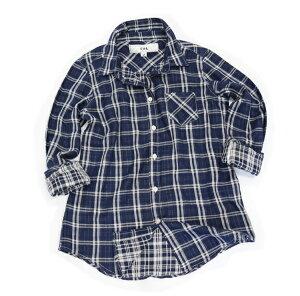 Wガーゼシャツ