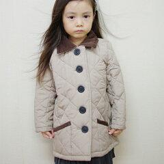 【キッズ】ブリティッシュキルティングジャケット