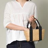 【nina fina】かごバッグ Sサイズ レディース バッグ 小物 BAG 手提げ ハンドメイド 巾着 ハンドバッグ HAPTIC ハプティック