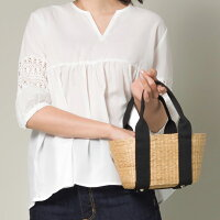 【ninafina】かごバッグSサイズレディースバッグ小物BAG手提げハンドメイド巾着ハンドバッグ