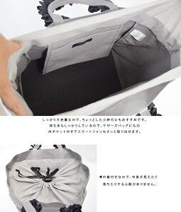 【ninafina】フリルハンドルトートバッグ