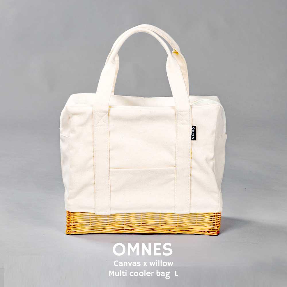omnes(オムネス)『柳キャンバスランチバッグL』
