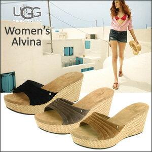 アグオーストラリア Woman's Alvina Womens Alvin コルクウェッジ sandals