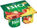 バナナと甘酸っぱいストロベリーの組み合わせ。ダノンビオ バナナ&ストロベリー 80g×4p 6...