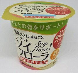 ホリ乳業 国産大豆100%使用のヨーグルト ソイフローラ 90g 10個入