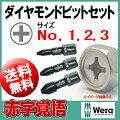 Wera(ヴェラ・ウェラ)ダイアモンドチップ付プラスビット