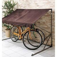 【送料無料】高耐久シートサイクルハウス替えシートカバーのみ3台用タイプ自転車置場サイクルポートマルチヤードマルチハウス激安