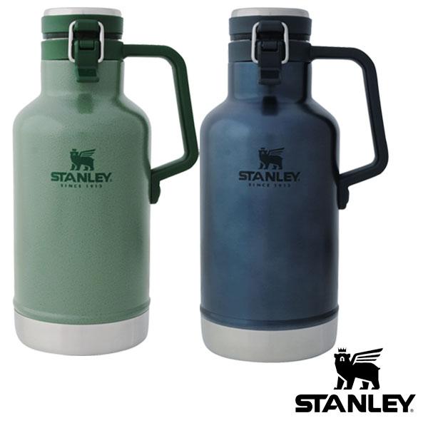 新ロゴ 全品10%OFFクーポン スタンレー クラシック真空グロウラー 大放出セール 1.9L 水筒 グリーン 内祝い STANLEY ロイヤルブルー ギフト袋対象 stlmug
