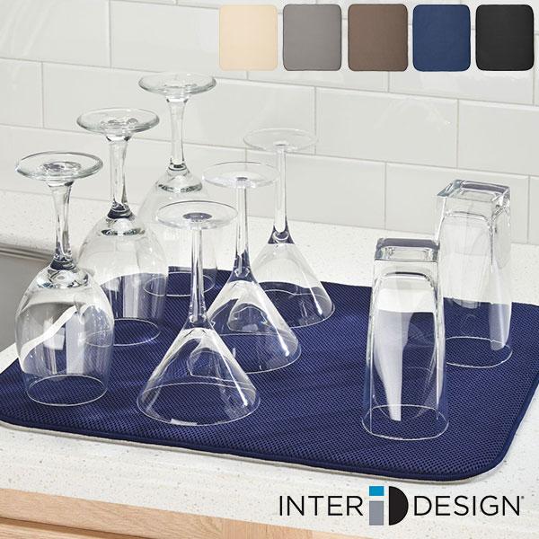 収納に便利 かさばらない インターデザイン iDryキッチンマット Lラージ itdzzz Design 新発売 ギフト袋対象 爆買いセール Inter