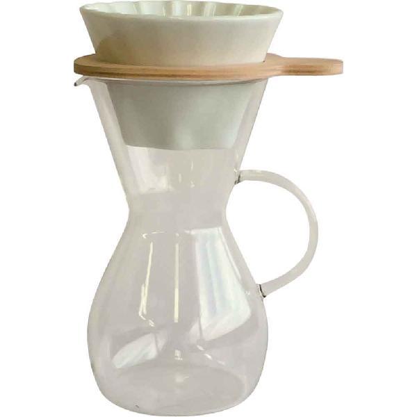 イワキ iwaki スノートップ コーヒーカラフェ&ドリッパーセット600ml