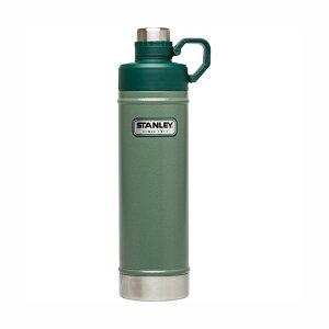 クラシック真空ウォーターボトル 0.75L 水筒 0.75L グリーン