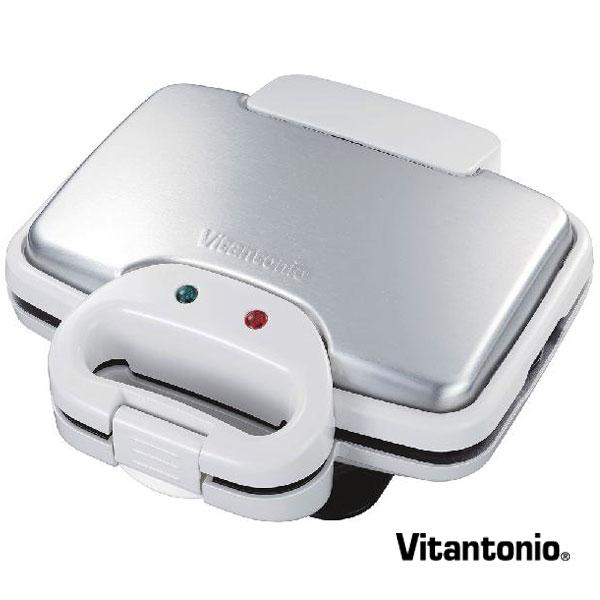 【1,000円OFFクーポン】ビタントニオ Vitantonio メーカー ワッフル&ホットサンドベーカー VWH-200-W ホワイト maker vitmak(BR0) 【ギフト袋対象、ギフトBOX対象、熨斗対象】