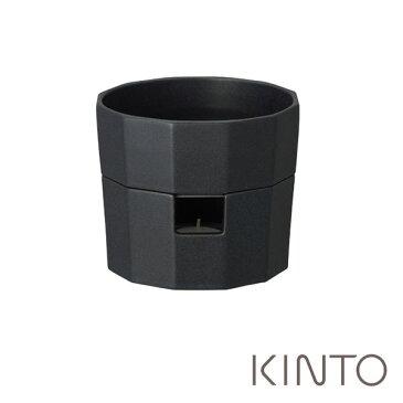 キントー カコミ チーズフォンデュポット 440ml ブラック 27795 KINTO KAKOMI kinkak