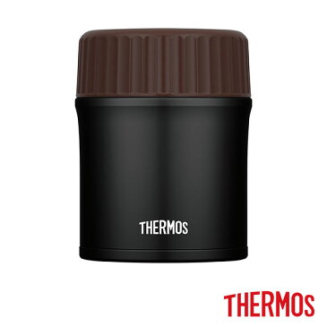 サーモス 真空断熱スープジャー JBI-383 MTBK 380ml マットブラック THERMOS thezzz