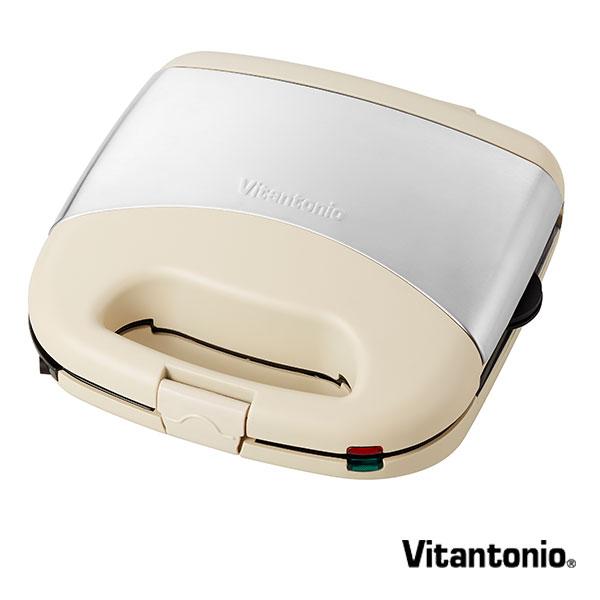 【1,000円OFFクーポン】ビタントニオ Vitantonio ワッフル&ホットサンドベーカープレミアムセット VWH-32-I アイボリー maker vitmak