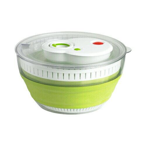 エムザ シリコンサラダスピナー ターボ ドイツ品質+機能 ヨーロピアンデザインで食卓を彩る