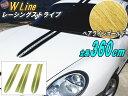 レーシングストライプ WLine (ヘア金) 【ポイント10倍】 6本S...