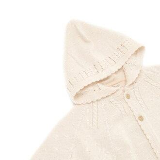 """cofucu""""咳嗽""""有機棉嬰兒針織向心模式角 60-90 (有機棉嬰兒有機嬰兒披肩斗篷有機棉嬰兒有機嬰兒披肩斗篷)"""