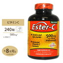 エスターC(高吸収) 500mg +シトラスバイオフラボノイド 240粒 American Health (アメリカンヘルス) [お得サイズ]サプリメント カルシウム ビタミンC配合