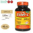 [お得サイズ]エスターC(高吸収) 500mg 120粒American Health アメリカンヘルスサプリメント カルシウム ビタミンC配合