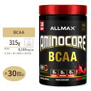 アミノコア BCAA ウォーターメロン 315g(0.69lbs)30回分 Allmax(オールマックス)筋トレ アミノ酸 男性 女性 ダイエット