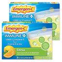 [2個セット]エマージェンC ビタミンCドリンク シトラス 30袋Alacer アレイサーパウダー サプリメント ビタミン類 ビタミンC配合 イミューン+