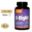 ビタミンBライト(低臭性Bコンプレックス) 100粒 サプリメント サプリ ビタミンB群 Jarrow Formulas ジャロウフォームラズ