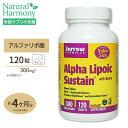 アルファリポ酸 300mg [お得サイズ]120粒サプリメント サプリ αリポ酸 ビオチン タブレット Jarrow Formulas ジャロー その1