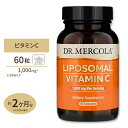 リポソームビタミンC 1,000 mg 60 Licaps カプセル Dr. Mercola (ドクターメルコラ)ビタミンC/リポソーム/ハイクオリティサプリ/