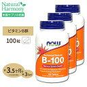 [3個セット]ビタミンB-100(Bコンプレックス)タイムリ...