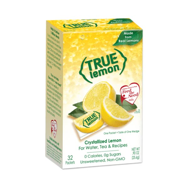 [NEW] トゥルーレモン 32袋入り 25.6g(0.9oz) True Citrus(トゥルーシトラス)画像