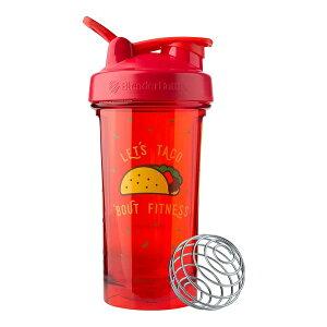 Blender Bottle ブレンダーボール付きシェイカー 700ml(24oz) タコス柄(ブレンダーボトル)