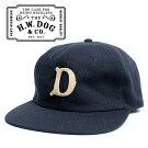 THEH.W.DOG&CO.ドッグアンドコーベースボールキャップネイビー
