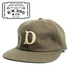 THEH.W.DOG&CO.ドッグアンドコーベースボールキャップカーキ