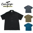 CalTopオープンカラーシャツキャルトップ半袖#3003アメリカ製