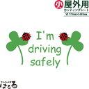 メール便対応★I'm driving safely転写式 カッティングステッ...