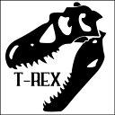 【 ティラノサウルス ステッカー 】骨格 かっこいい おしゃれ カッテ...
