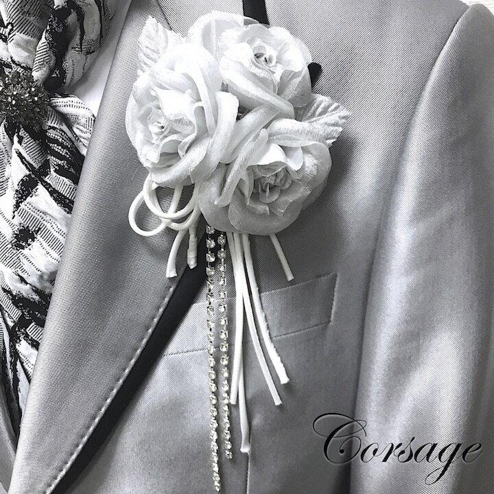 メンズジュエリー・アクセサリー, その他  White Silver rose MT-COS18006